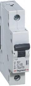 Выключатель автомат 10A Legrand RX3 1P C 4,5кА