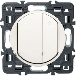 Светорегулятор для светодиодных ламп 3-75W Вт Celiane белый