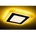Светодиодная панель с подсветкой желтого цвета 6+3W Truenergy 10272