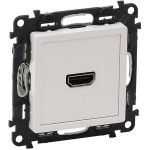 Розетка HDMI для аудио/видео устройств Valena life 753171 белый