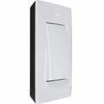 Рамка однопостовая бело-черная Simon 8200610-200
