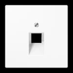 РОЗЕТКА компьютерная белый  Jung LS990 арт.EPUAE8UPOK6+LS969-1UAWW