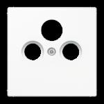 РОЗЕТКА TV-SAT оконечная белый  Jung LS990 арт.S4100 + LS990satWW