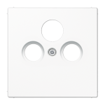 РОЗЕТКА TV-SAT проходная белый  Jung LS990 арт.S4110 + LS990satWW