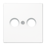 РОЗЕТКА TV оконечная белый  Jung LS990 арт.S2900 + LS990TVWW