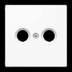 РОЗЕТКА TV проходная белый  Jung LS990 арт.S2910 + LS990TVWW
