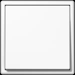 Одноклавишный выключатель белый Jung LS990 арт.501U + LS990WW