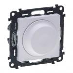 Светорегулятор (диммер) поворотный 5-300 Вт Valena life 752460 белый