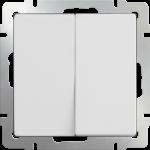 Двухклавишный выключатель Werkel белый
