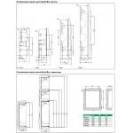 Щиток трехрядный 36 модулей с белой дв. Easy9 Schneider Electric