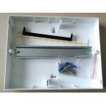 Щиток двухрядный 24 модуля с дым.дв. накладной Easy9 Schneider Electric