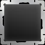 Одноклавишный проходной выключатель Werkel черный