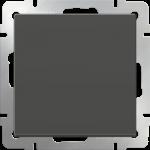 Одноклавишный проходной выключатель Werkel коричневый