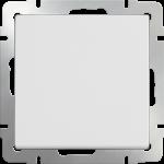 Одноклавишный выключатель Werkel белый