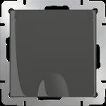 Розетка с заземлением со шторками с крышкой 2Р+Е Werkel коричневый