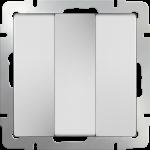 Трехклавишный выключатель Werkel белый