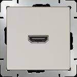 HDMI-розетка Werkel слоновая кость